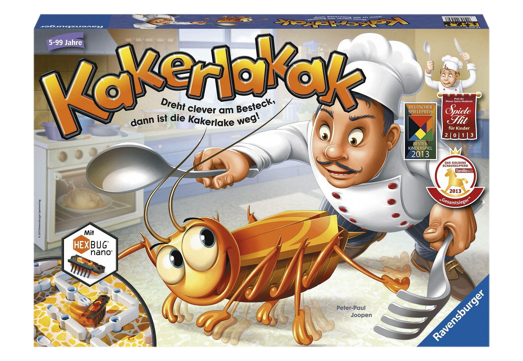 Ravensburger Reaktions-Spiel, »Kakerlakak«
