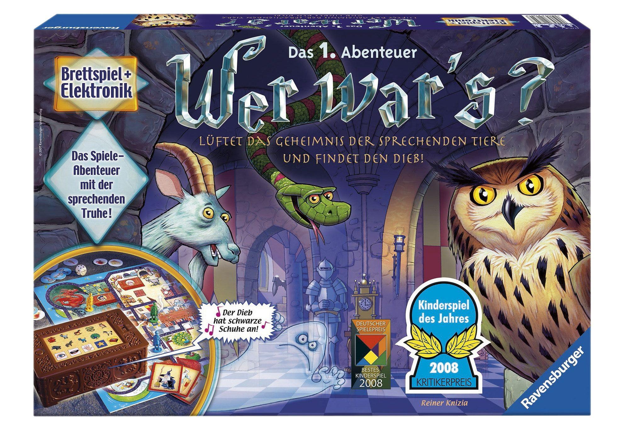 Ravensburger Elektronisches Brettspiel, »Wer war´s?«