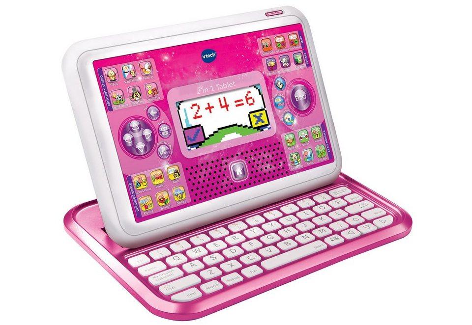 2-in-1-Tablet, VTech in pink