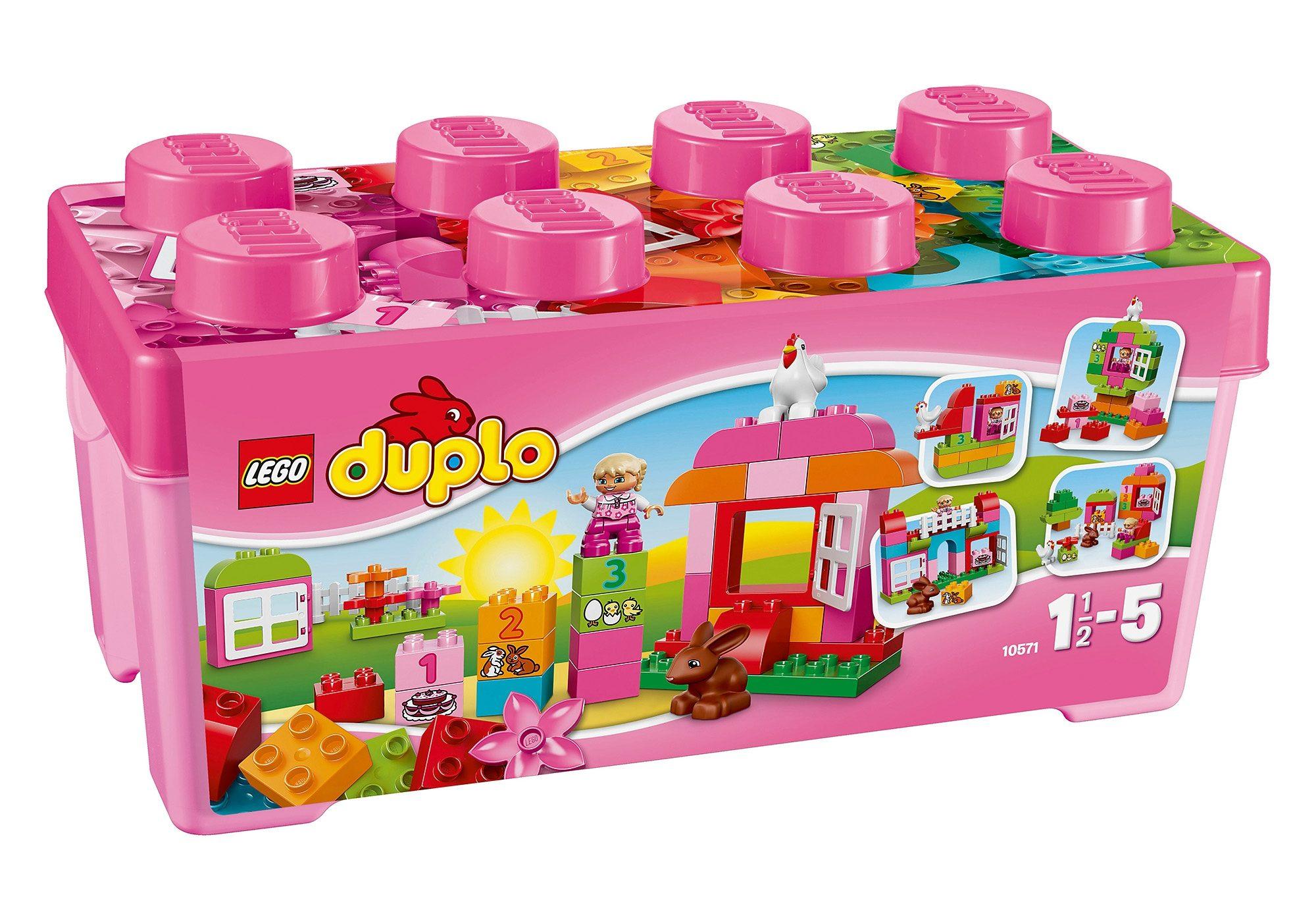 LEGO®, Große Steinebox Mädchen (10571), Lego Duplo