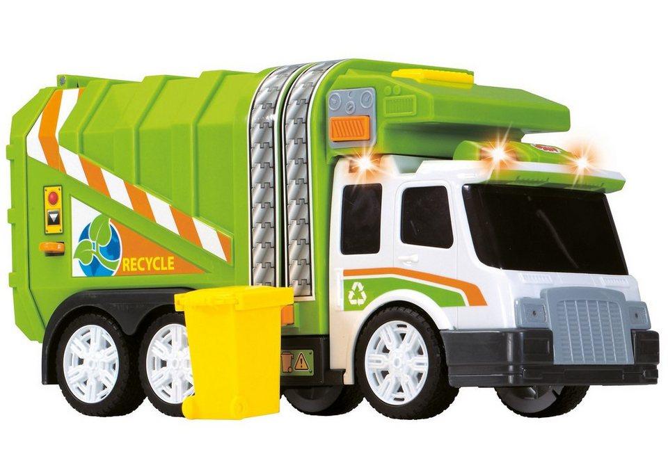 Dickie Spielzeugauto Müllwagen mit Licht und Sound, »Garbage Truck«