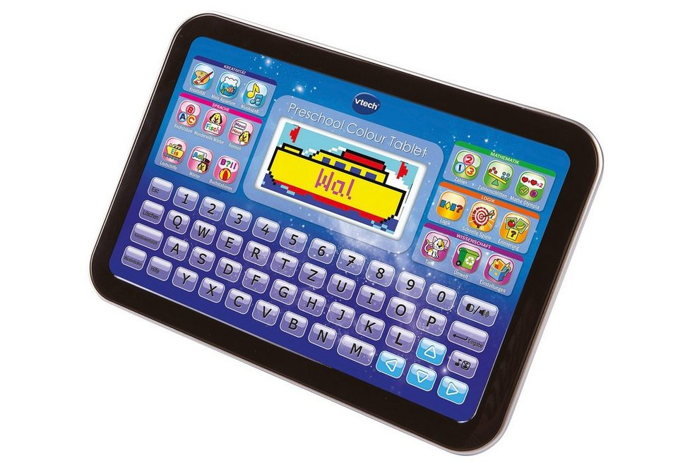 VTech, Preschool Colour Tablet in blau