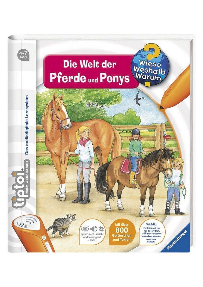 Ravensburger Buch, tiptoi®, WWW – »Welt der Pferde und Ponys«