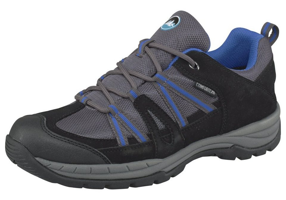 Polarino Summit Outdoorschuh in Schwarz-Grau