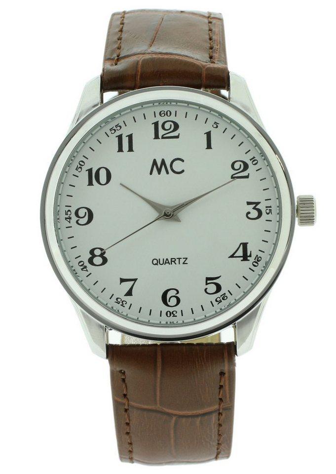 "MC, Armbanduhr, ""27659"" in braun"