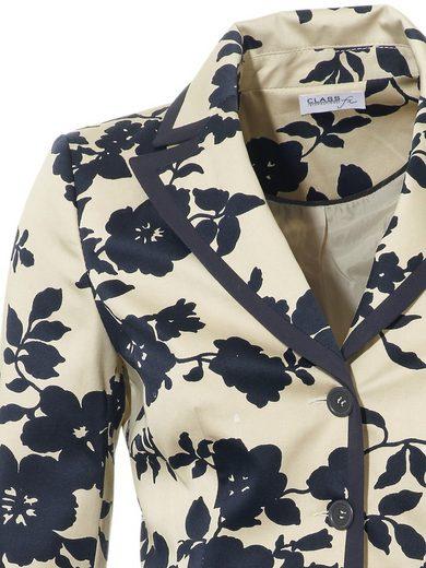 ASHLEY BROOKE by Heine Bodyform-Druckblazer Blumen