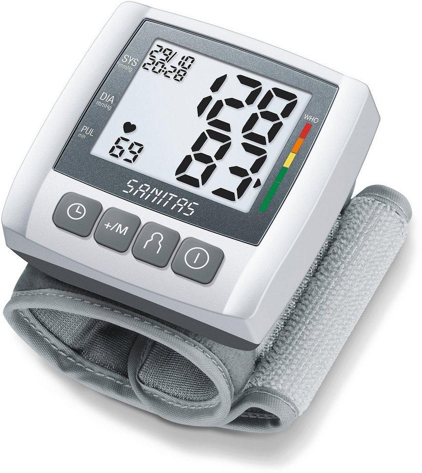 Sanitas, Blutdruckmessgerät, SBC 21 in weiß