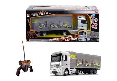 Dickie Toys RC-Fahrzeug mit Licht und Sound, »Mercedes Benz Actros« Sale Angebote Schwarzbach