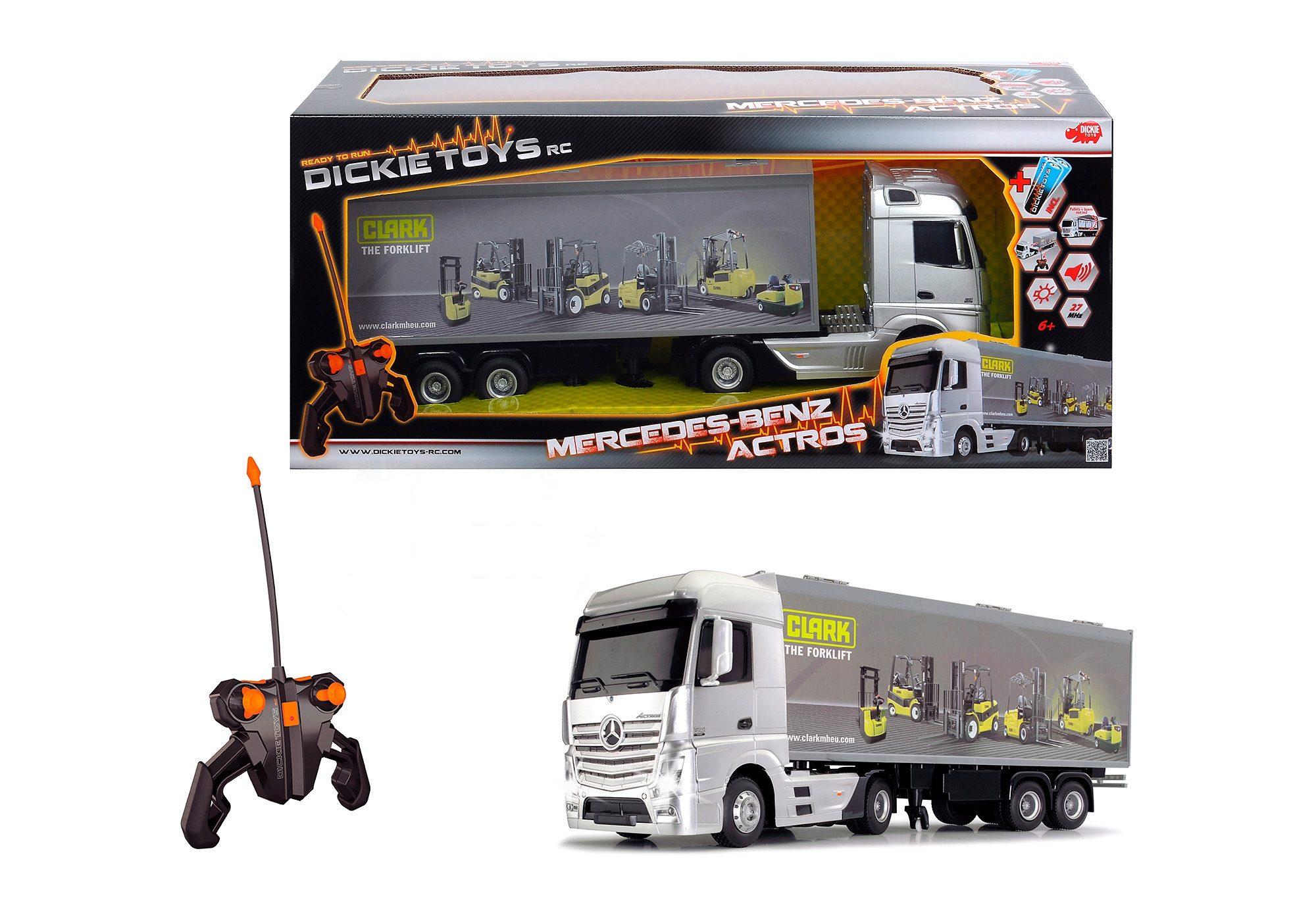 Dickie Toys RC-Fahrzeug mit Licht und Sound, »Mercedes Benz Actros«