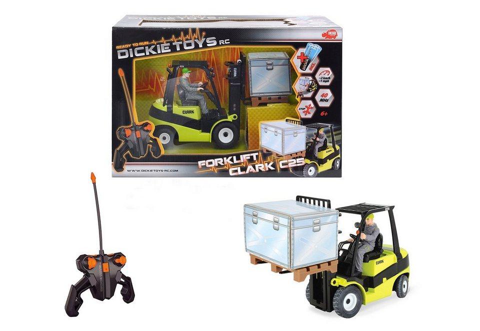 Dickie Toys RC-Komplett-Set Gabelstapler, »Forklift C 25«