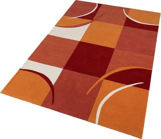 Wollteppich »Magnus«, Theko Exklusiv, rechteckig, Höhe 13 mm, reine Wolle, Wohnzimmer