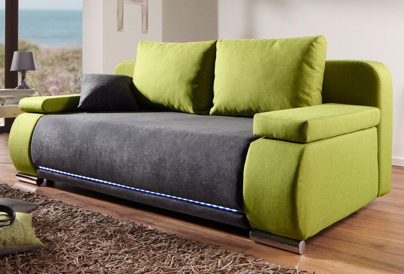 schlafsofas mit bettkasten preisvergleiche erfahrungsberichte und kauf bei nextag. Black Bedroom Furniture Sets. Home Design Ideas