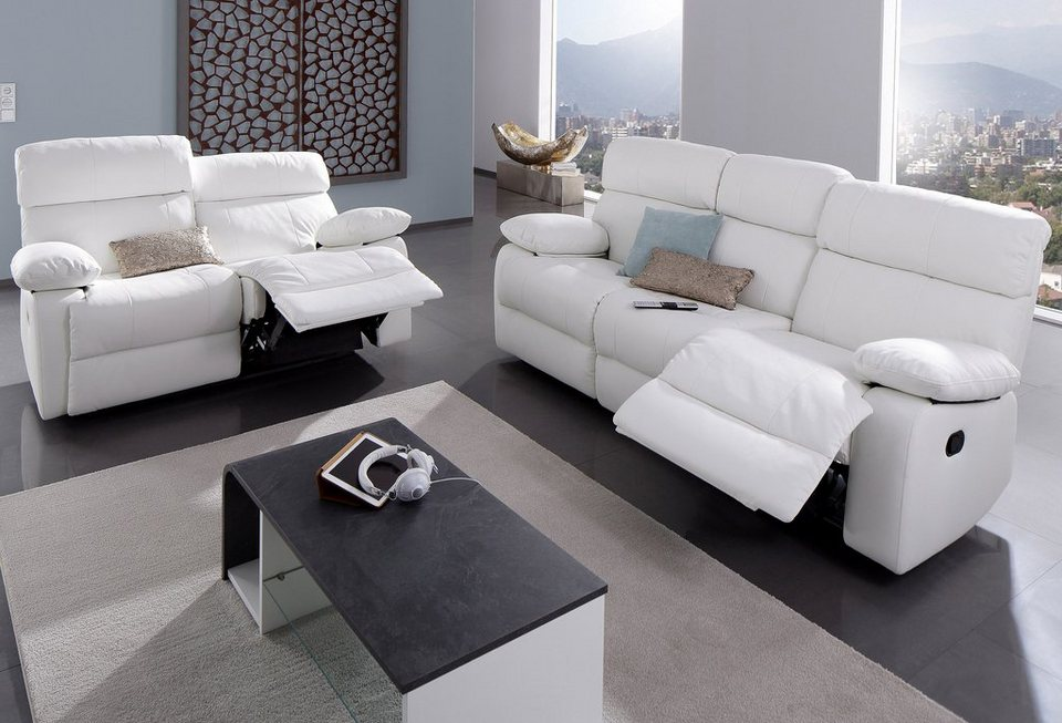 garnitur bestehend aus 3 und 2 sitzer kaufen otto. Black Bedroom Furniture Sets. Home Design Ideas