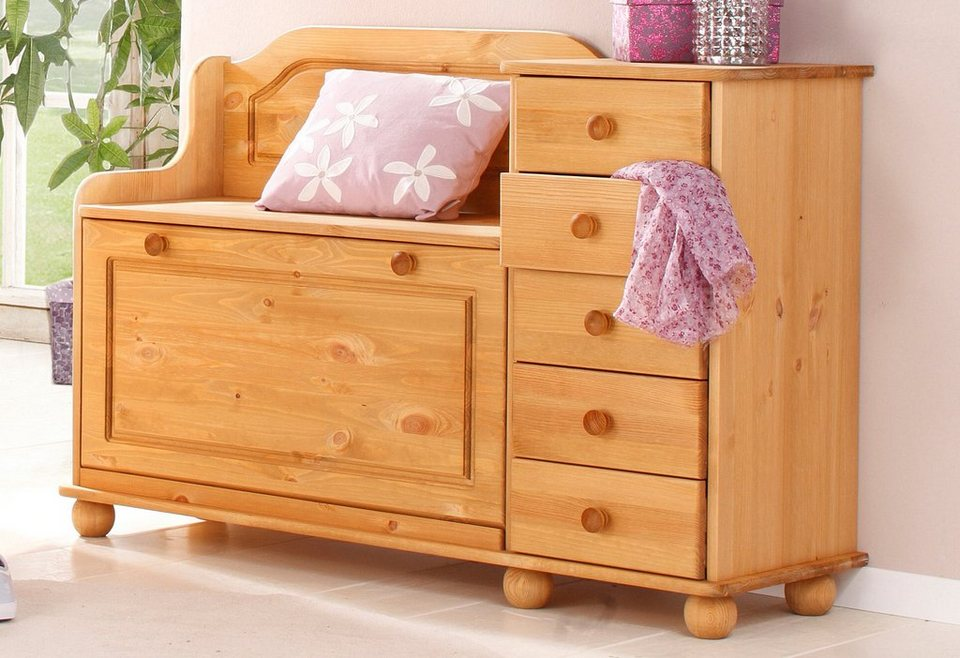 home affaire schuhbank mary mit 5 schubalden und schuhklapper online kaufen otto. Black Bedroom Furniture Sets. Home Design Ideas