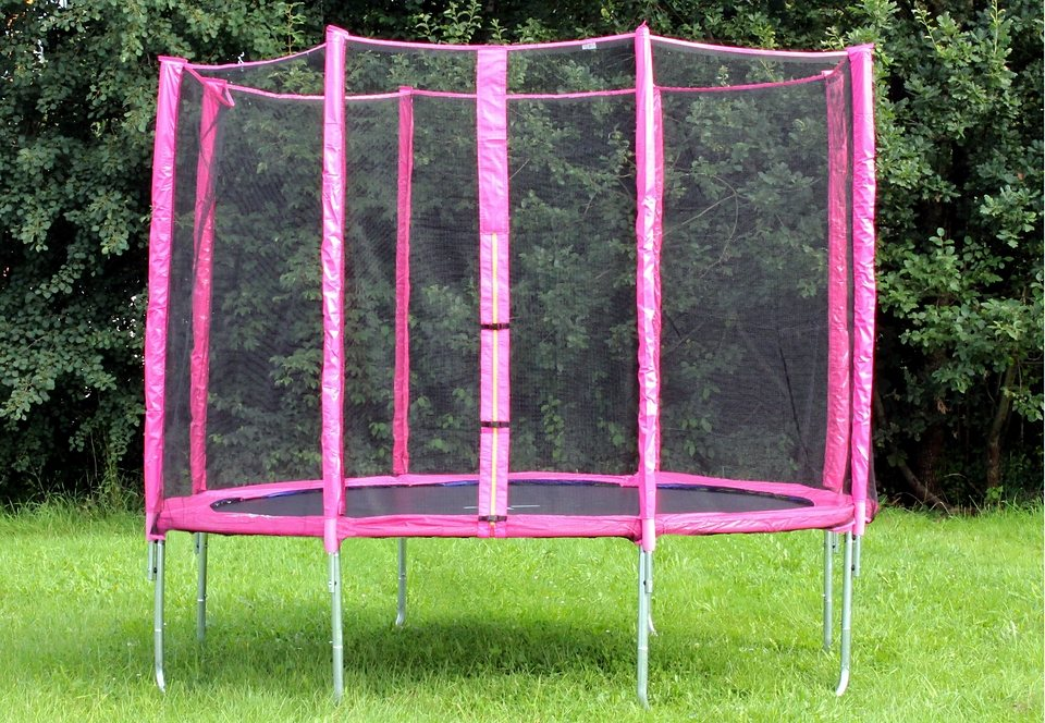 joka fit trampolin 305 cm pink online kaufen otto. Black Bedroom Furniture Sets. Home Design Ideas