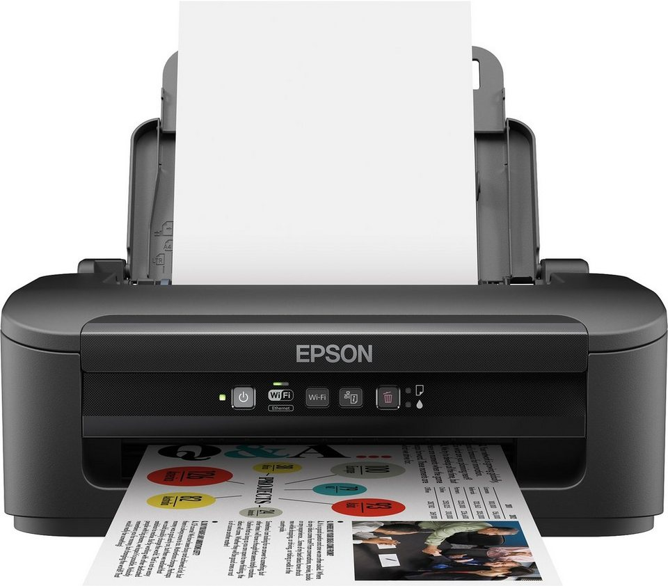 Epson WorkForce WF-2010W Drucker in schwarz