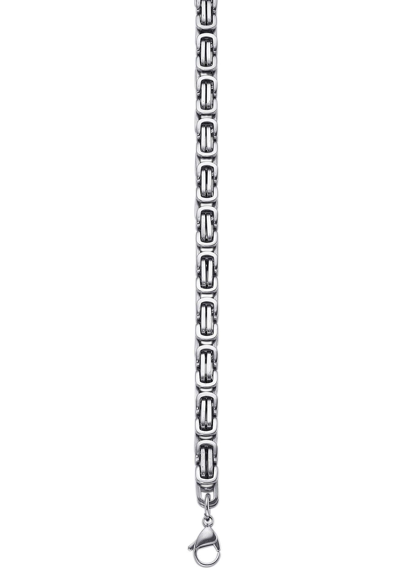 Armschmuck: Armband in Königskettengliederung
