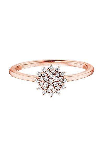 Vivance Jewels Ring mit Diamanten in roségold