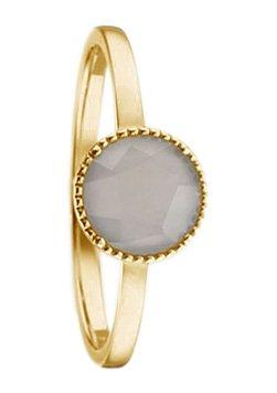 Vivance Jewels Ring mit Mondstein in goldfarben