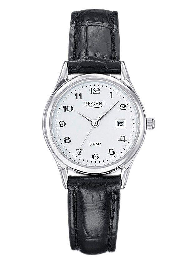 "Regent, Armbanduhr, ""12110913"" in schwarz"