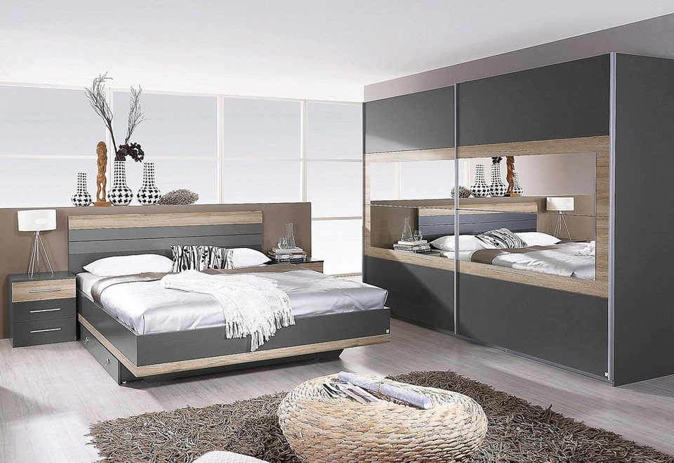 rauch schlafzimmer spar set 4 tlg online kaufen otto. Black Bedroom Furniture Sets. Home Design Ideas