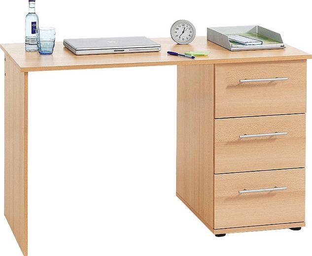 Schreibtisch »Tobi«, mit 3 Schubkästen