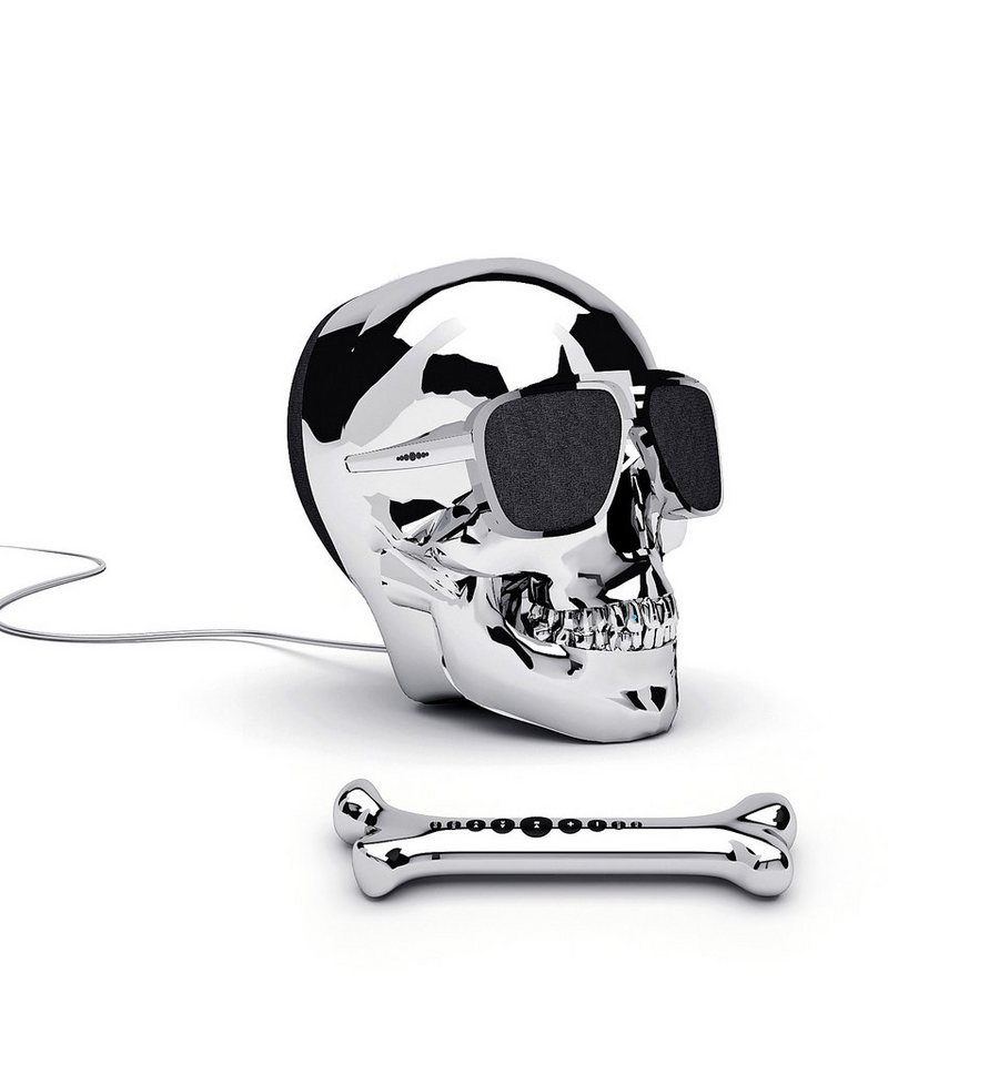 Jarre Technologies Dockingstation »AeroSkull HD+« in silber