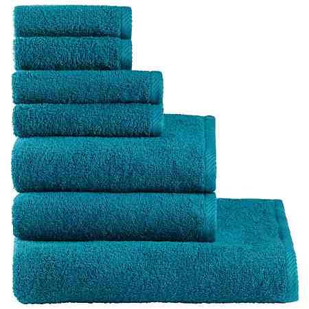 Handtuch Set, my home, »Lisa«, aus reiner Baumwolle