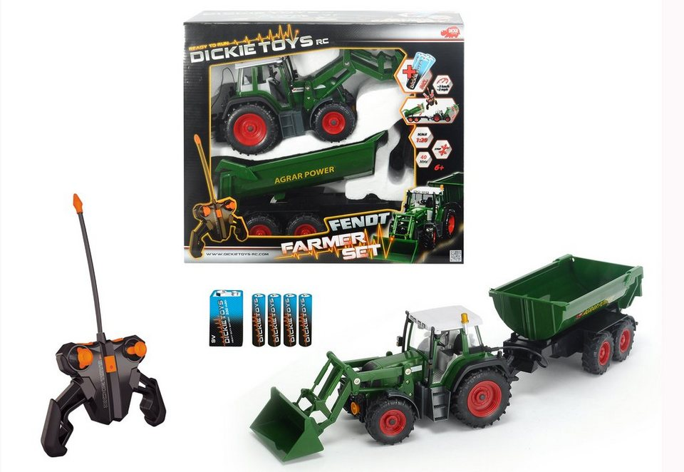 RC-Set Traktor, »Farmer Set«, Dickie