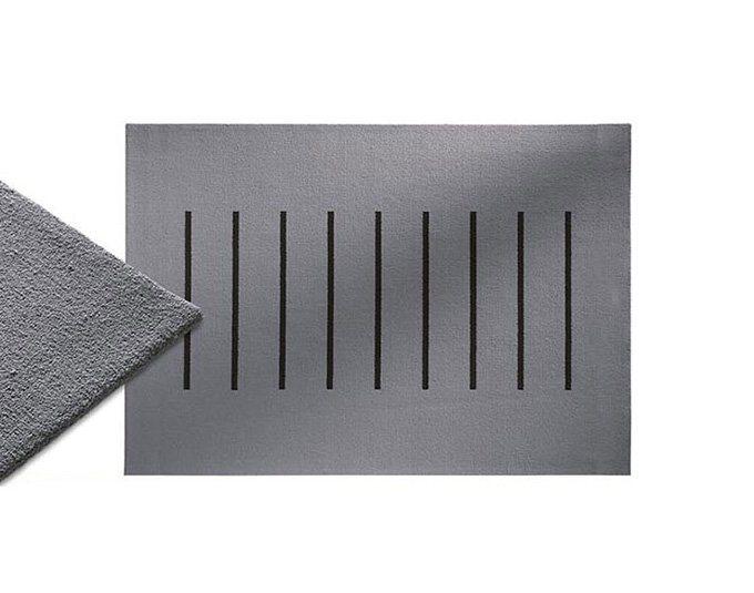 Kasper Wohndesign Teppich Neuseelandwolle Grau Stitch Online Kaufen Otto