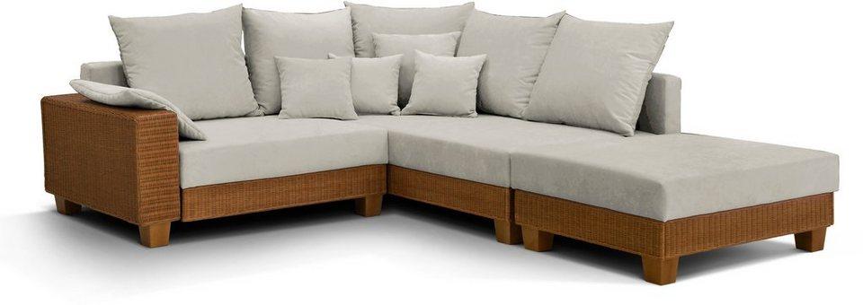 home affaire polsterecke udine inklusive hocker otto. Black Bedroom Furniture Sets. Home Design Ideas