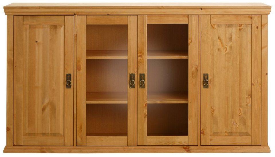 Sideboard, Home affaire, Breite 169 cm in gelaugt/geölt