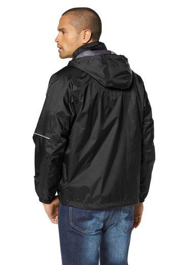 Eastwind Rain Jacket, Reflector Details On Sleeves