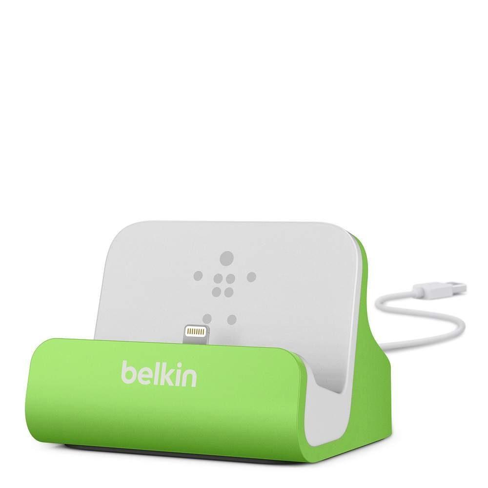 BELKIN Kabel & Adapter »Sync-/Lade-Dock für iPhone grün weiss«