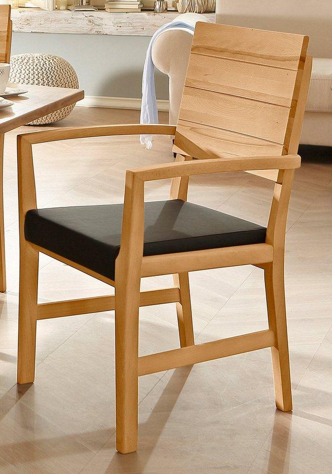 Armlehnstuhl, Premium collection by Home affaire, »stuhlparade« in Kernbuche