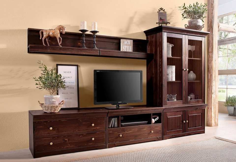 wohnwand 6 tlg home affaire breite 270 cm otto. Black Bedroom Furniture Sets. Home Design Ideas