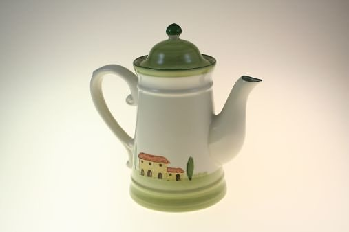 Zeller Keramik Kaffeekanne »Bella Toscana« in Weiß