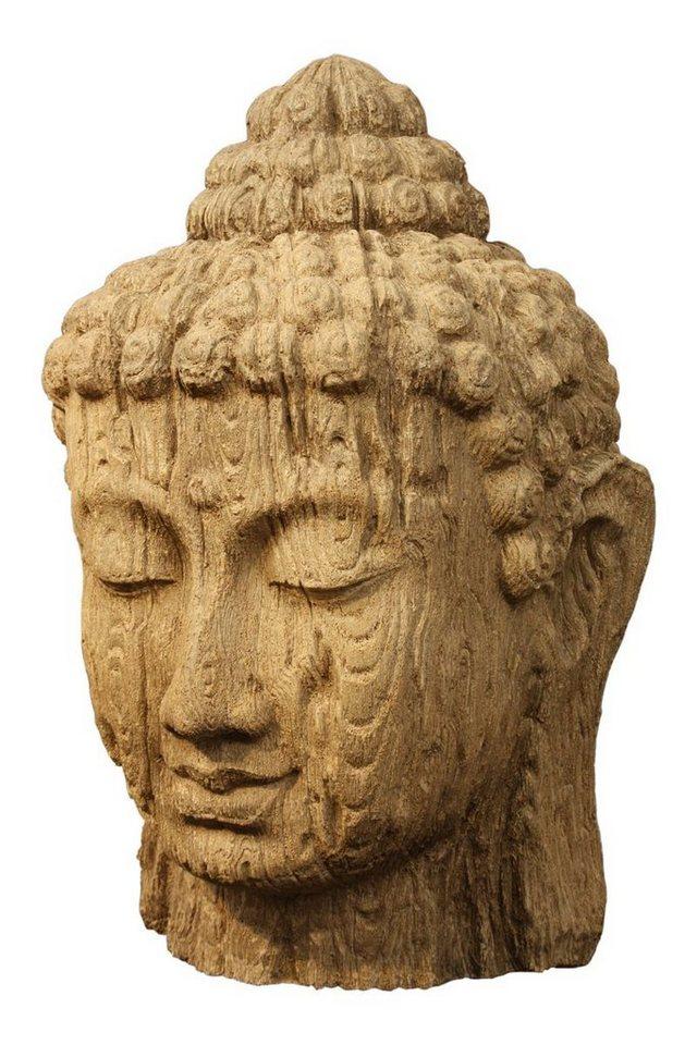 Kasper-Wohndesign Buddha Statue Dekofigur verschiedene Ausführungen und Größen in beige, anthrazit
