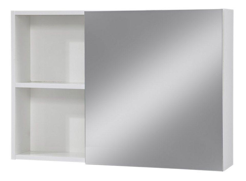 Spiegelschrank »Opal«, Breite 80 cm in weiß
