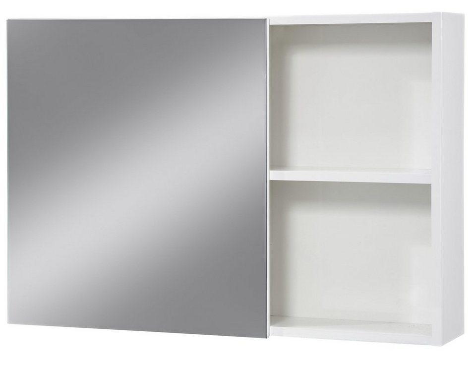 Spiegelschrank »Opal« Breite 80 cm in weiß