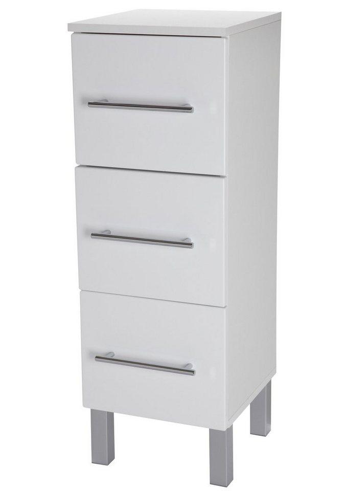 Unterschrank »Malmö«, Breite 30 cm in weiß/weiß