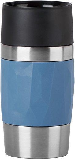 Emsa Thermobecher »Travel Mug Compact«, 100% dicht, 3h heiß, 6h kalt, 300 ml