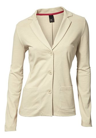Пиджак трикотажный с короткий Revers с...