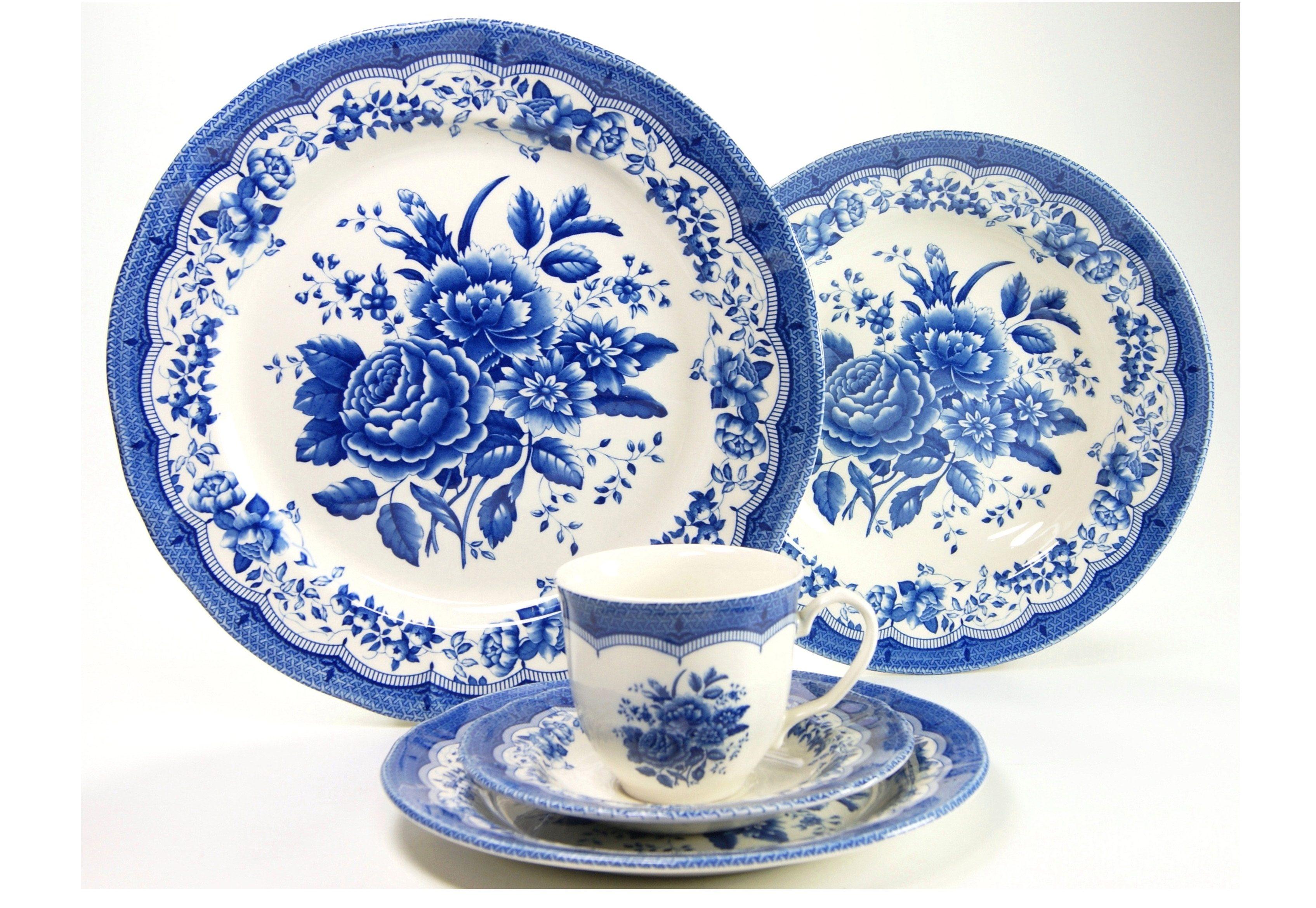 Kombiservice, »Victorian Blue«, CreaTable (30tlg.)