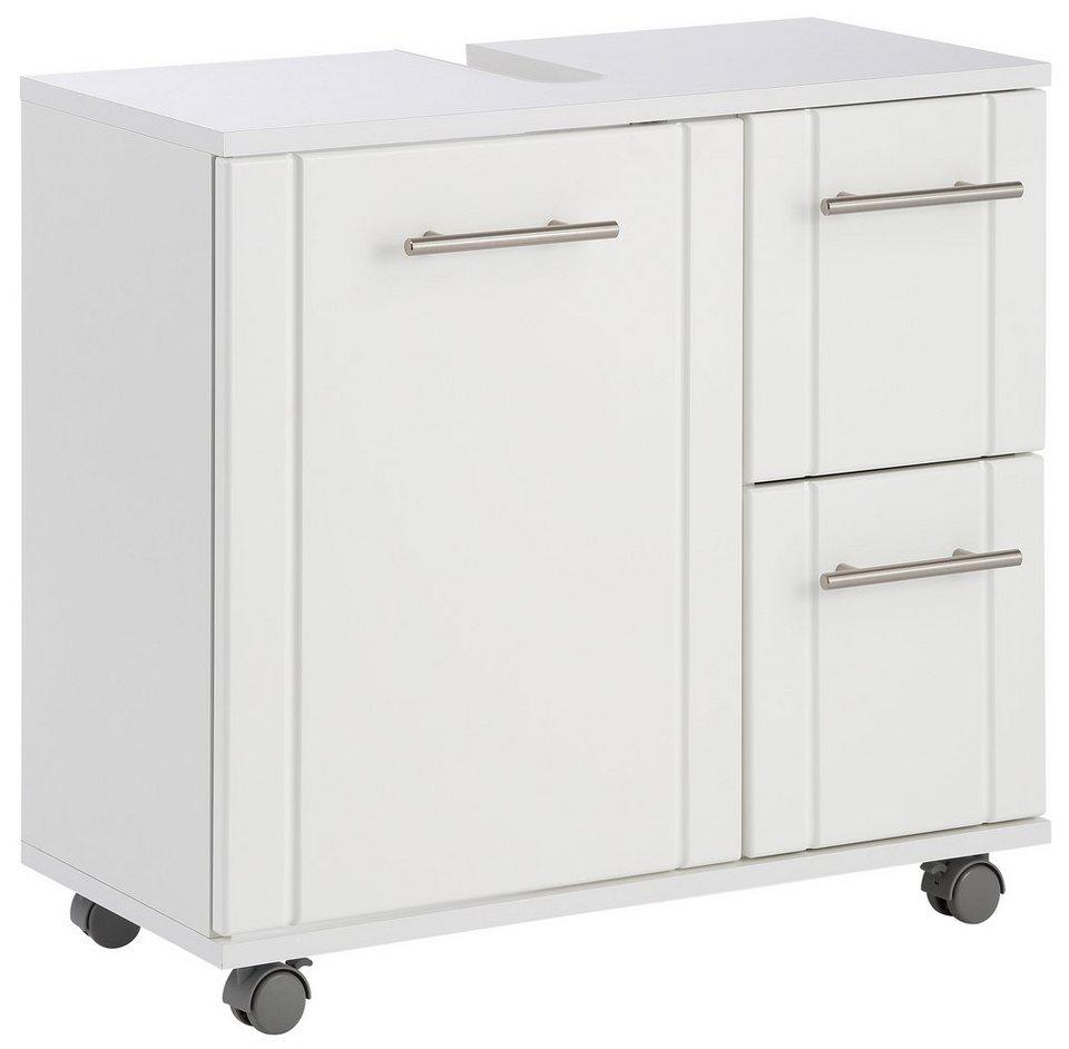 waschbeckenunterschrank schildmeyer emmi mit rollen online kaufen otto. Black Bedroom Furniture Sets. Home Design Ideas