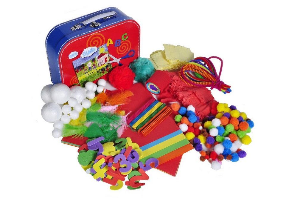 Bastelkoffer, »Koffer Set - Arts & Crafts«, knorr toys