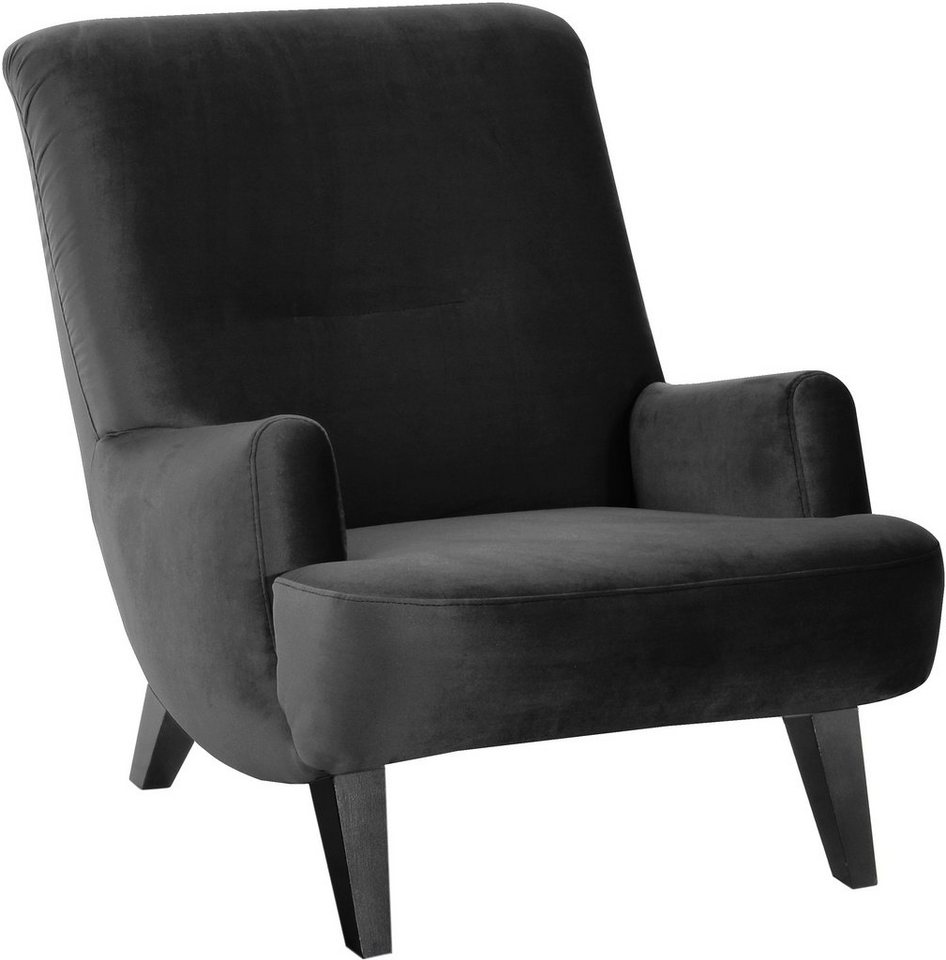 Max Winzer® Sessel »Borano« in schwarz