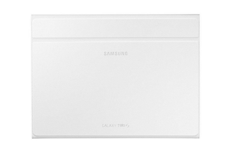 Samsung Tablettasche »Book Cover mit Aufstellfkt. für Tab S 10.5, Weiß« in Weiß