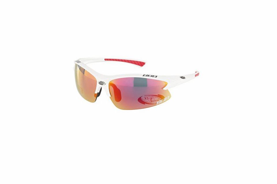 BBB Radsportbrille »Impulse BSG-38 Team Sonnenbrille« in weiß