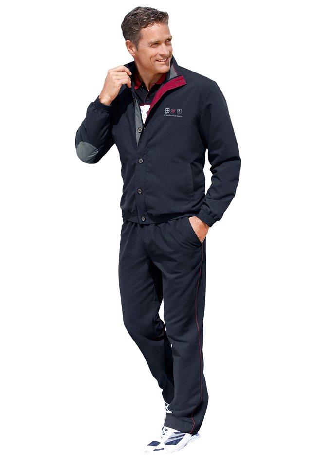 Catamaran Freizeitanzug mit Kontrastbesätzen und Paspeln | Sportbekleidung > Sportanzüge | Blau | Catamaran